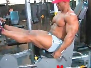 bodybuilder butt