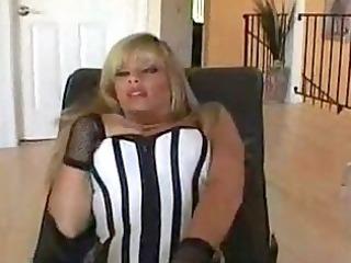 slutty woman inside fishnet
