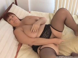 sexy breasty mother id like to pierce into nylons