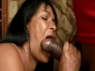 brazilian lady awesome butt and licking on huge