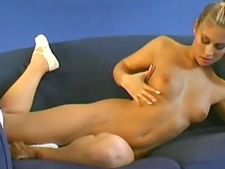 blond flexible gymnast inside erotic show for you!