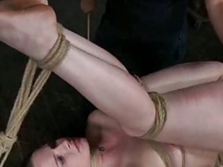 awesome hot lady in bondage deed