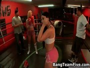 Extremely hot gangbang free porn video