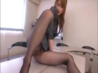 horny eastern  agency worker takes nailed by the