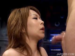 japanese slave gives bj to abductor