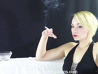 Sexy Smoking Sirens - Cigarette Elegance 1