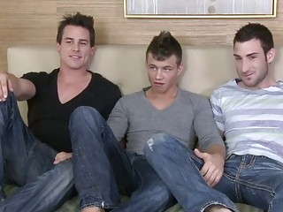 triple twink starring for a sex video