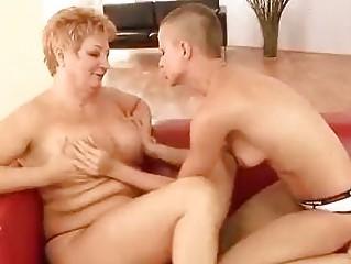 grownup dike playing her bitch