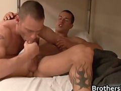 brothers horny fucker gets penis part1