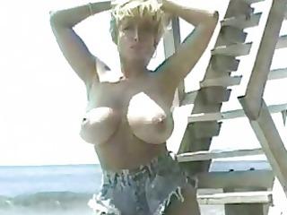 classic danni ashe uncovering her massive tits