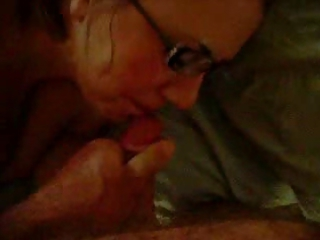 fat maiden with glasses acquires a facial