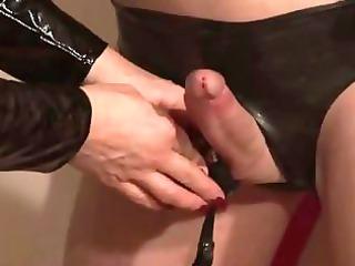 german mistress silvia trains her sissy maid