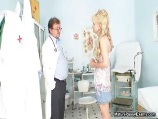 busty medic abused a grownup bleached lady part6