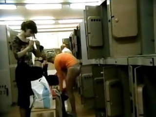 granny and amateur in japanese bathroom hidden cam