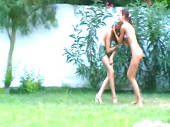 slovak angels watersports in the garden