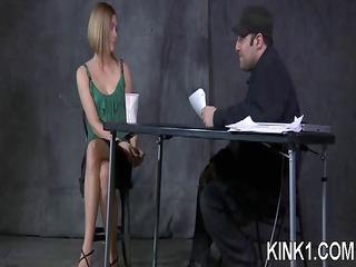 girl bent into half by bondage