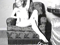 vintage fuck movie of a lady inside stockings