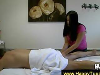 slutty masseuse tries to seduce client