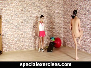 special bdsm training for charming teen sweetie