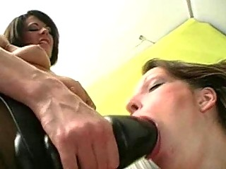big strap on vibrator fuck