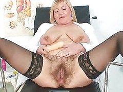 desperate chick irma had extremly hirsute pussy