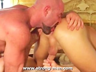cougar rimming anal