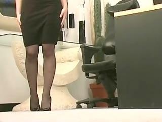 frisky agency doxy into nylons receives