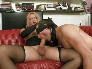 tranny punishing and banging a boy