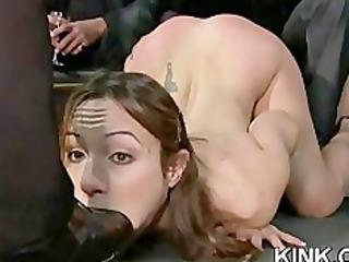 intense bdsm fuck and ass fistin