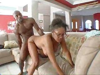 Mature black woman fucks sons best friend