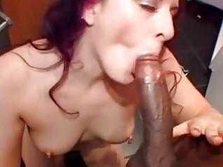 alluring caroline fuck ingests a gigantic penis