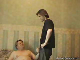 horny fatty seduced a guy to anal gay sex