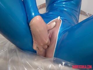 rubber masturbation, bullet porn tool