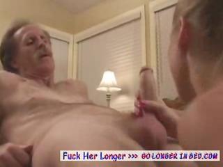 inexperienced albino wishes granny difficult