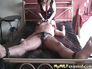 my lady exposed - older slut into underwear