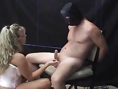 sweet chick bach femdom handjob