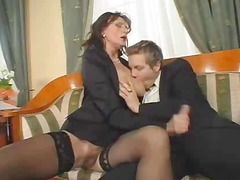 superb furry older fuck and squirt
