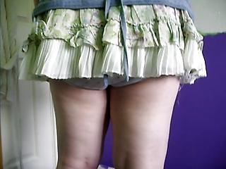 sweet tiny pantie peeks