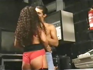 slutty tiziana redford in red underwear german