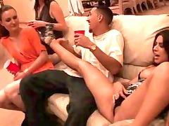teens take part inside orgy