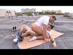 roof-top drilling – outside gay tough