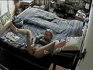 spy cam under woman