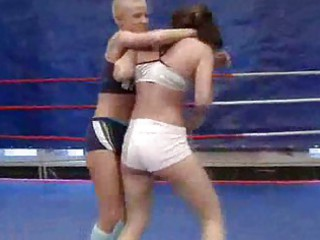 awesome fresh whores fighting with every different