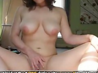 desperate fresh angel with glasses masturbating