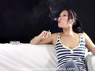 Tanya Street Clothes Cigarette Sample Clip