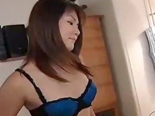 asian girl with tiny breast taking her nipples