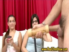 cfnm girl teaches how to use sex vibrator